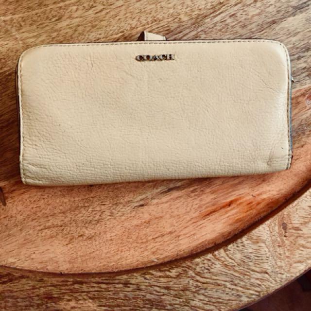 Genuine Coach wallet