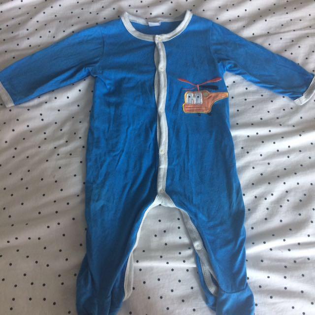 Heli sleeping suit