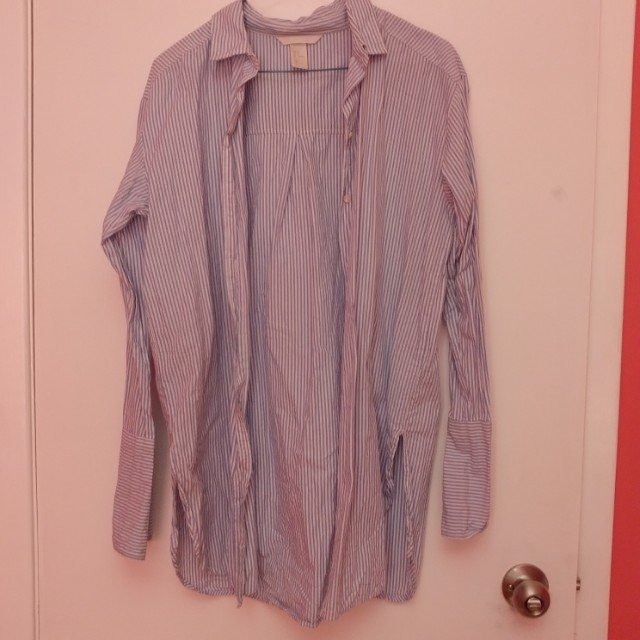 H&M Button Down Bell Sleeved