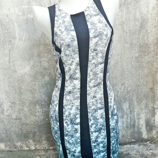 H&M OMBRÉ DRESS
