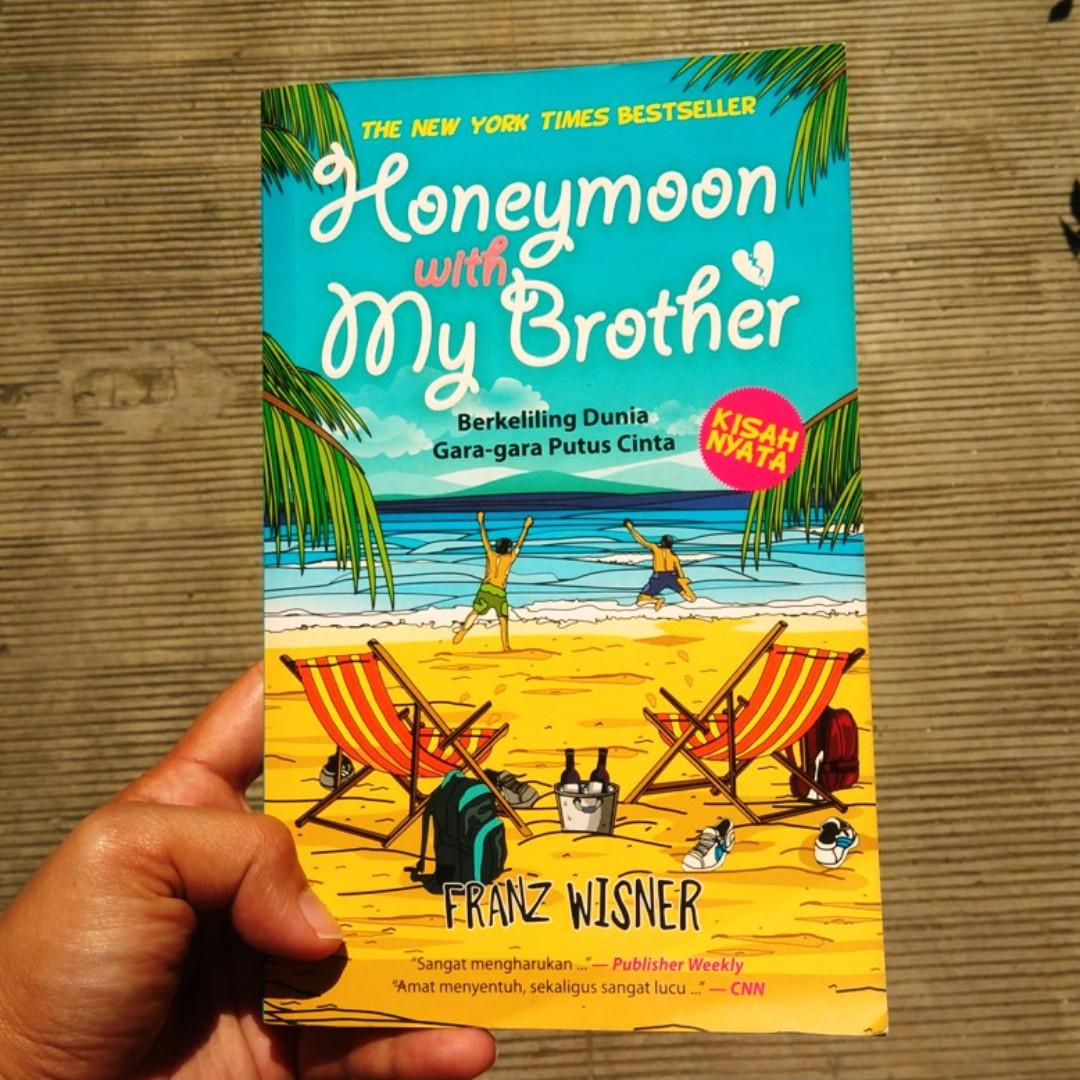 Honeymoon with my Brother (novel petualangan, novel bekas, ori)