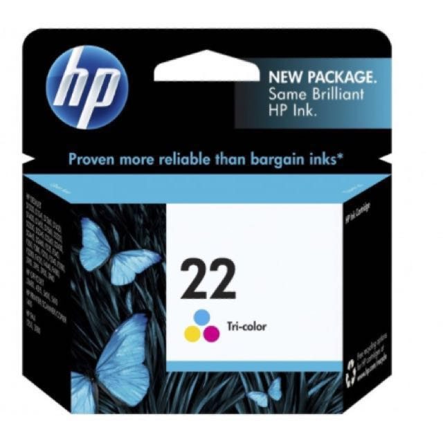 HP22 Tri-Colour Original Ink Cartridge