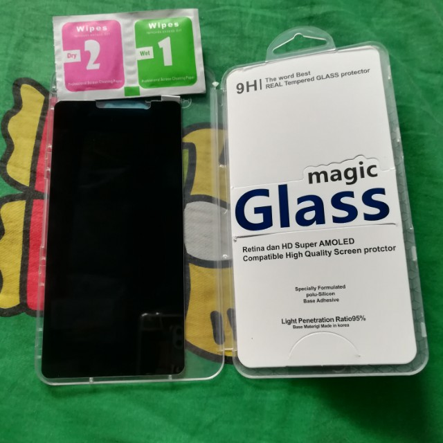 Huawei GR5 2017 Privacy Tempered Glass / Magic Glass