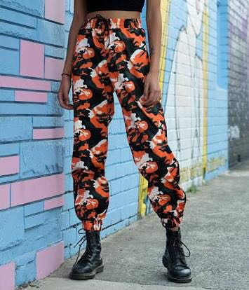I.am.gia orange camo pants