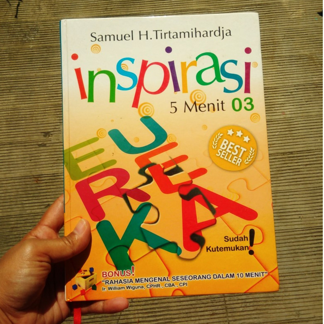 Inspirasi 5 Menit (buku bekas, ori, hardcover)