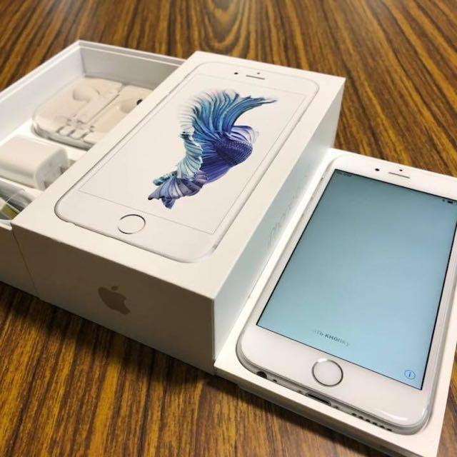 iPhone 6S 64G 銀色 無傷漂亮