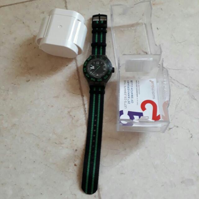 jam swatch scuba masih baru ---drop price--