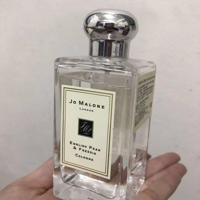 Jo malone 英國梨與小蒼蘭香水 100ml English pear & Freesia