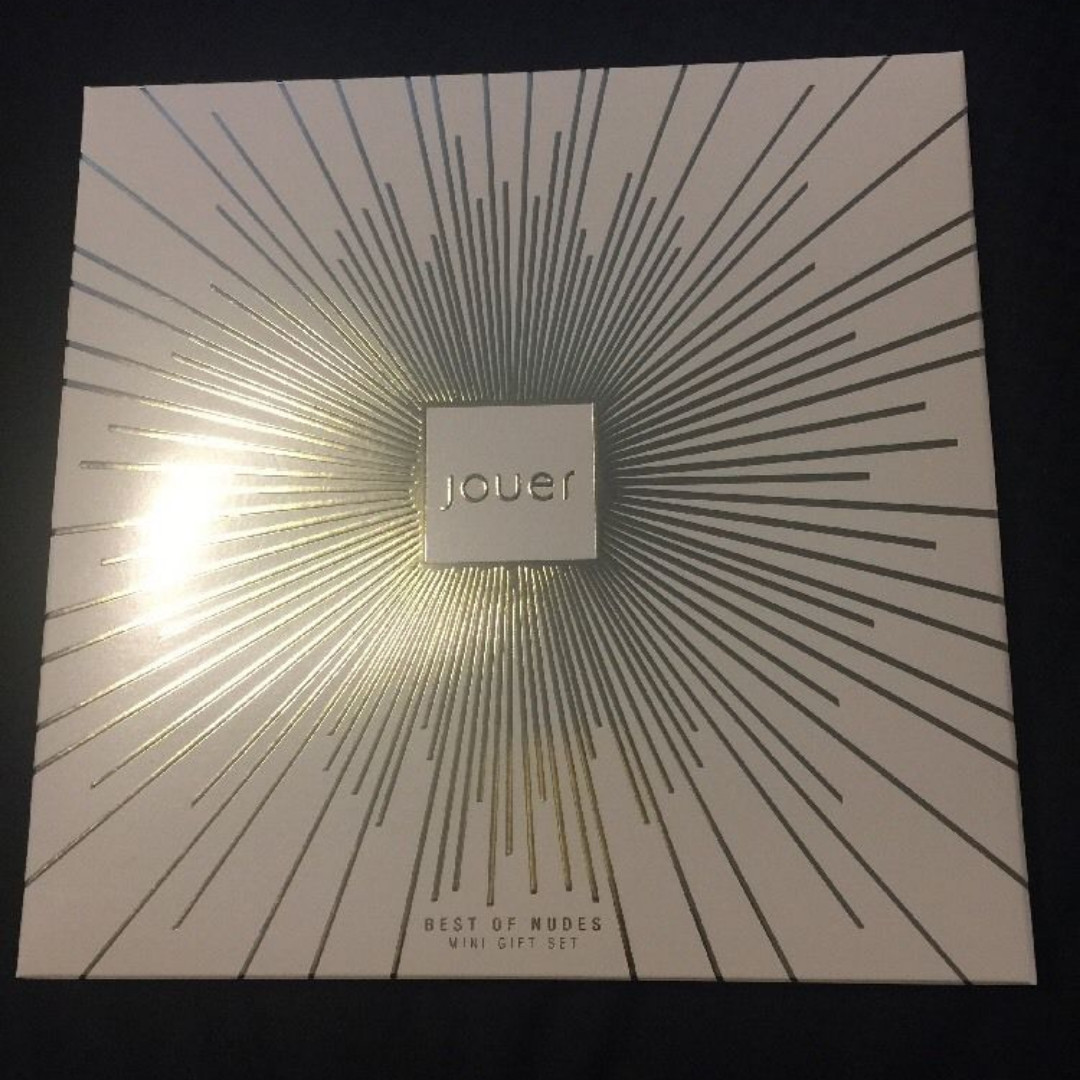 Jouer Best Of Nudes Mini Gift Set NEW + AUTH