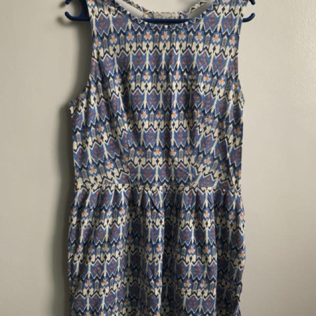 Just G blue summer dress
