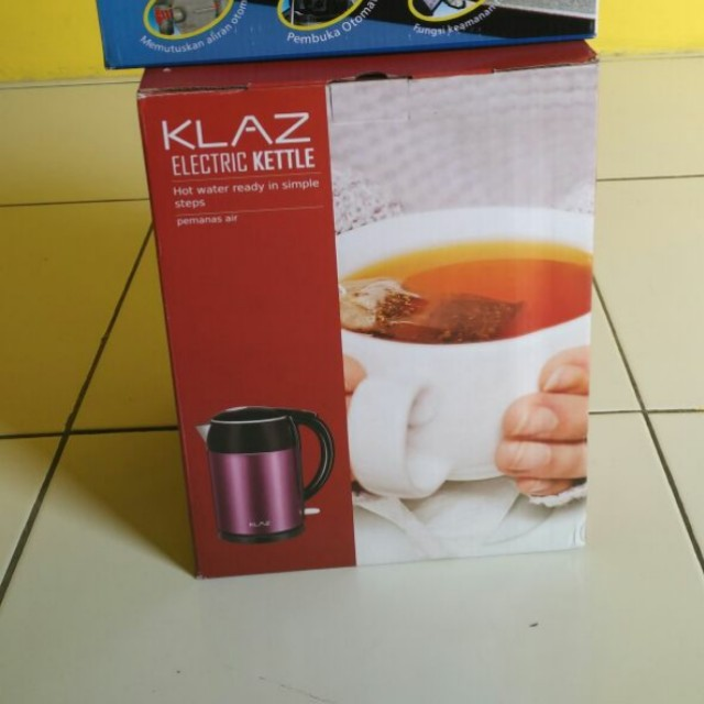 KLAZ Electric Kettle 1.7 Liter / Water Heater Pemanas Air