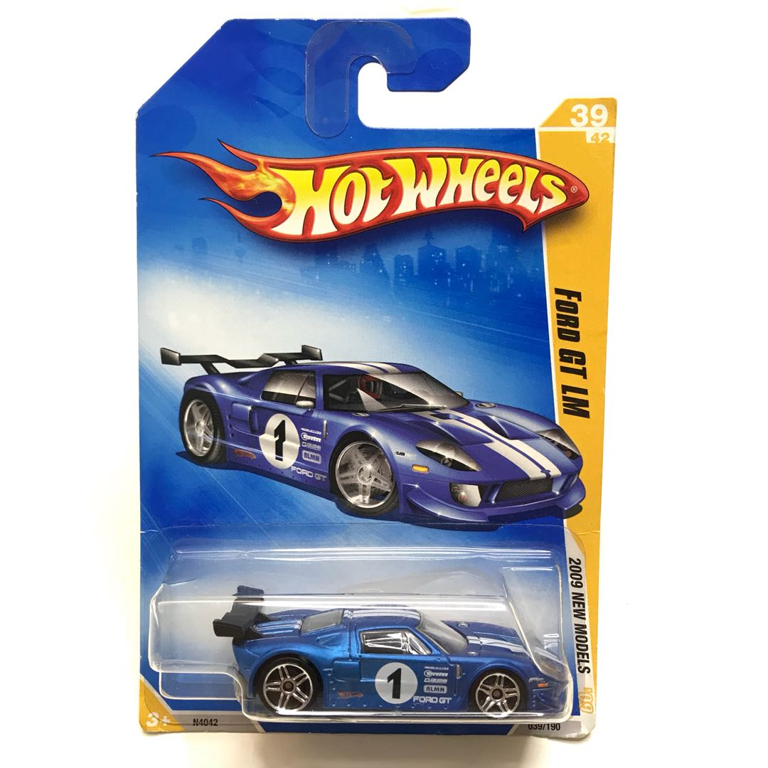 Last One Rare Hot Wheels Vintage Ford Gt Lm Blue  New Rare Blue Sports Car Hotwheels Toys Games Bricks Figurines On Carousell