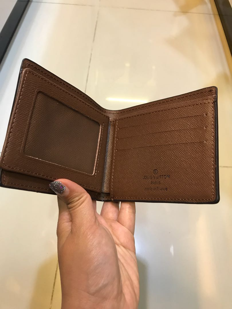Lv wallet man woman unisex