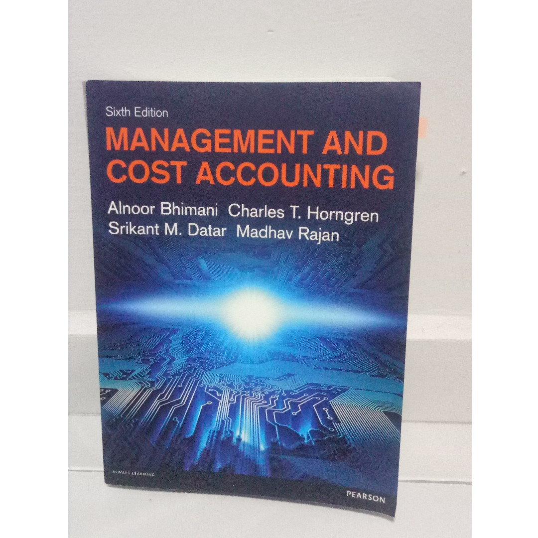 Management And Cost Accounting - Six Edition