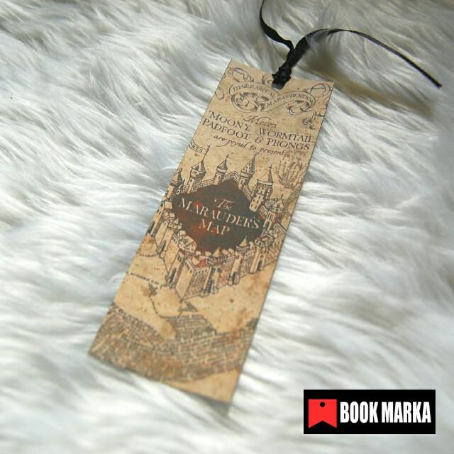 Marauder's Map bookmark