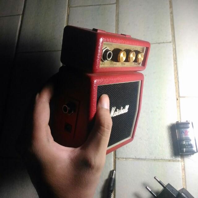 Marshall Mini Amplifier