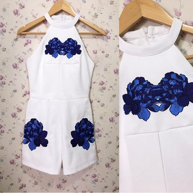 MDS white jumpsuit