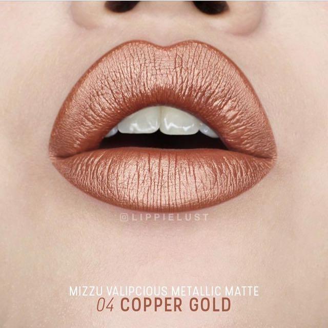 Mizzu Valipcious metalic matte 04 Copper Gold