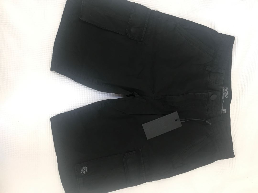 Mossimo brand new men's black shorts