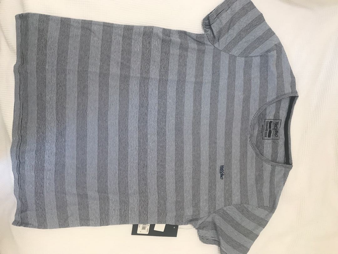 Mossimo brand new men's striped tshirt
