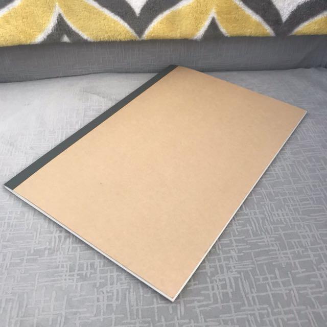 Muji and Moleskin notebooks