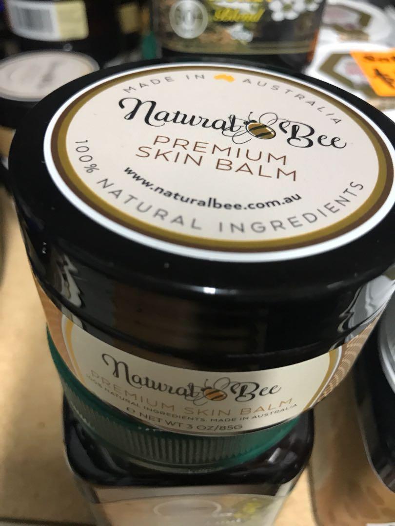 Natural bee skin balm 85g
