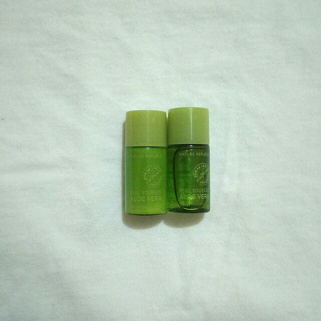 Nature Republic Real Squeeze Aloe Vera (Sample Travel Size)
