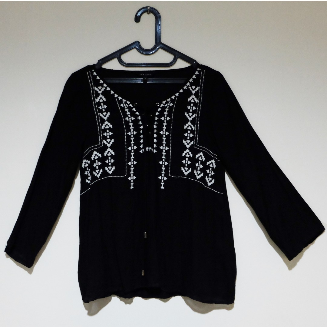 New Look Tribal Blouse