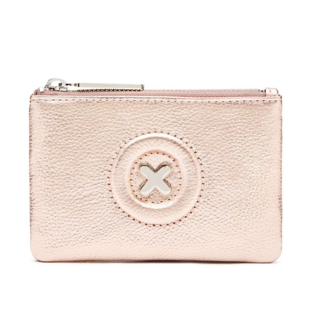 New Mimco Daydream Rose Gold Small Pouch RRP$69.95