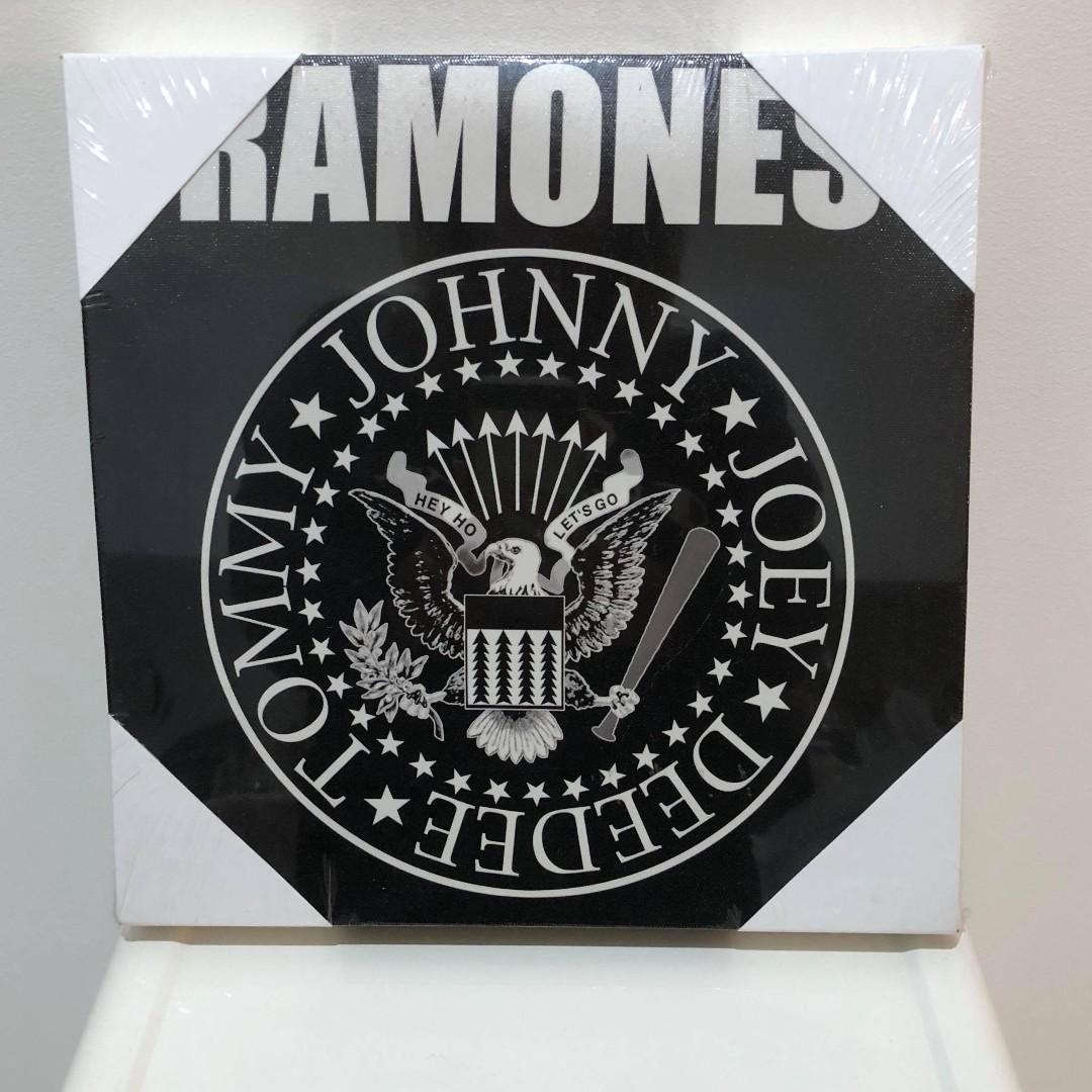 NEW Ramones Band Wall Art Canvas Frame