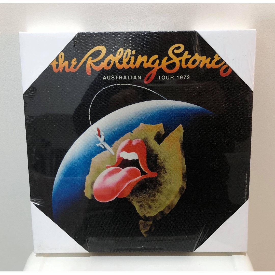 NEW Rolling Stones Wall Art Canvas Frame