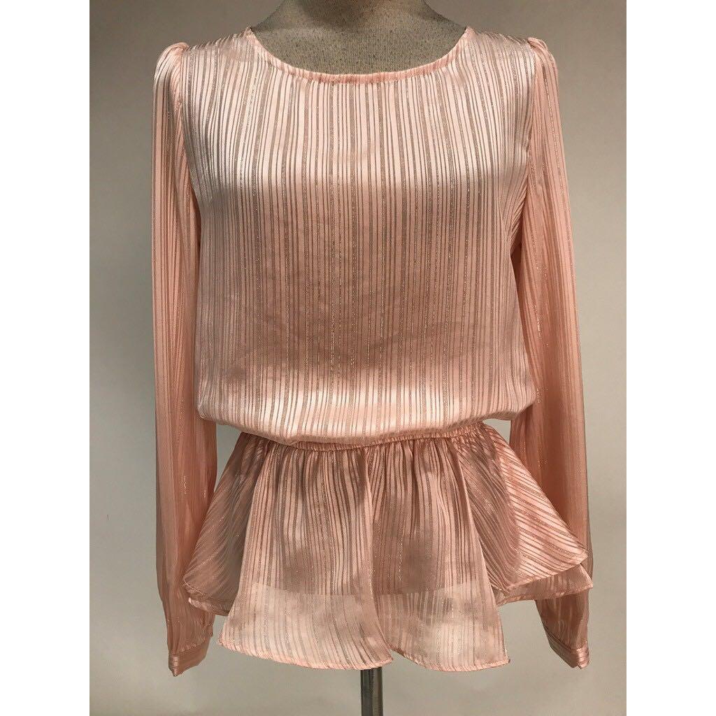 Nichii long sleeve blouse