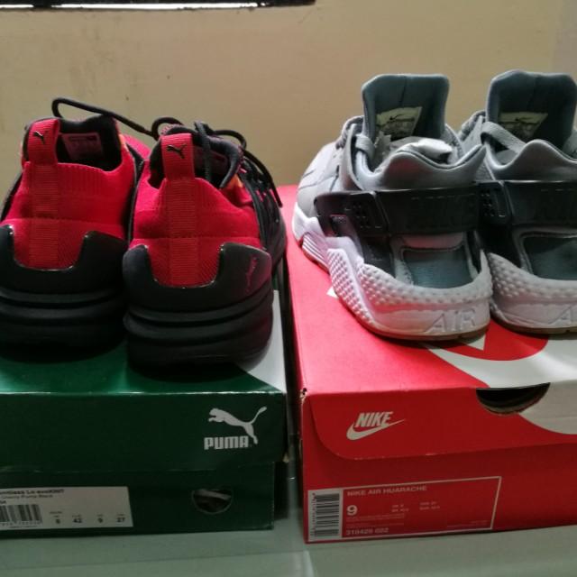 separation shoes 61d31 81568 ... wholesale nike huarache vs puma evoknit bog mens fashion footwear on  carousell 1b465 075e8