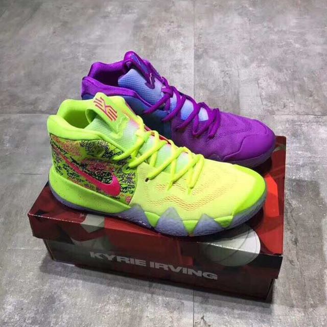 "sports shoes 383bb f1880 Nike Kyrie 4 ""Confetti"""