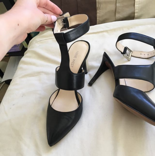 Nine West Black Heels Size 7