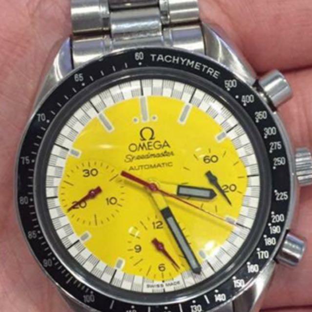 Omega speedmaster watch schumacher