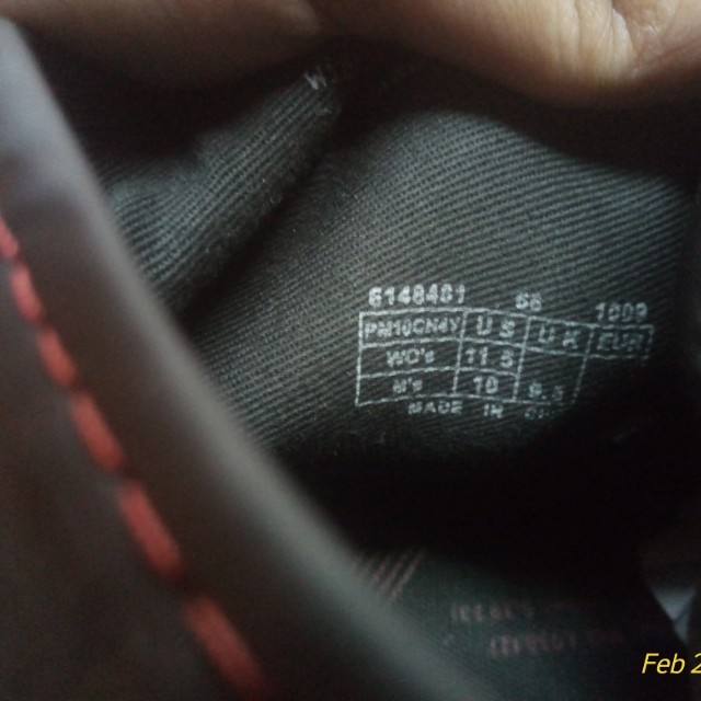 c7ba5e56ee72 PF Flyers Center Hi Holiday 2010 leather black and red edition ...