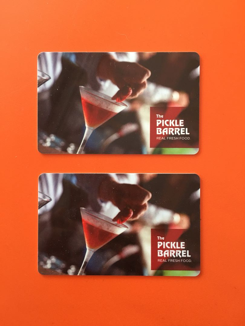 Pickle Barrel Gift Cards