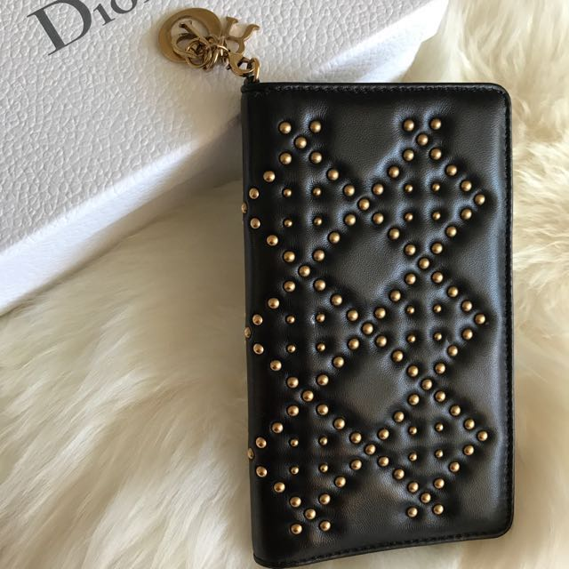 sale retailer 707e0 cb8c9 pre-loved* Dior iPhone 7 Plus Case, Luxury, Accessories on Carousell