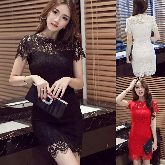 [PREORDER] Lace Sleeveless Dress