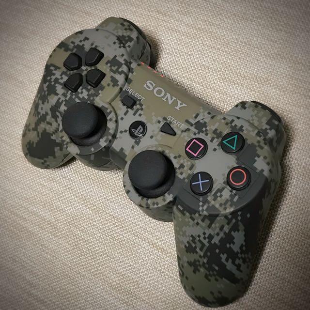 PS3 原廠手把 DualShock3無線控制器 迷彩系列