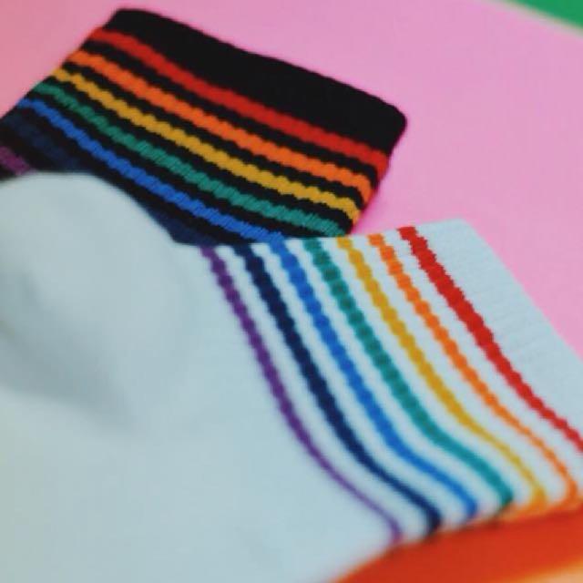 Rainbow Pride Socks