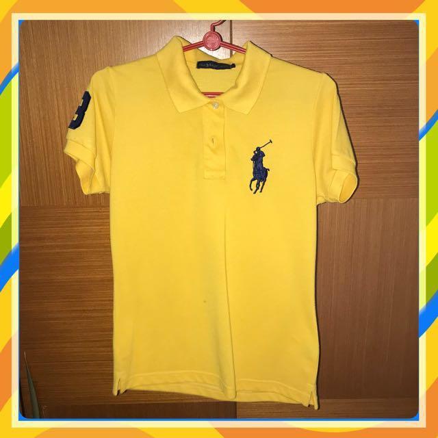 Replica Ralph Lauren Polo Tee (Yellow) 7dc472773