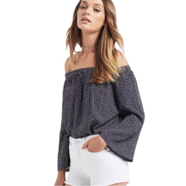Seed Off the shoulder top