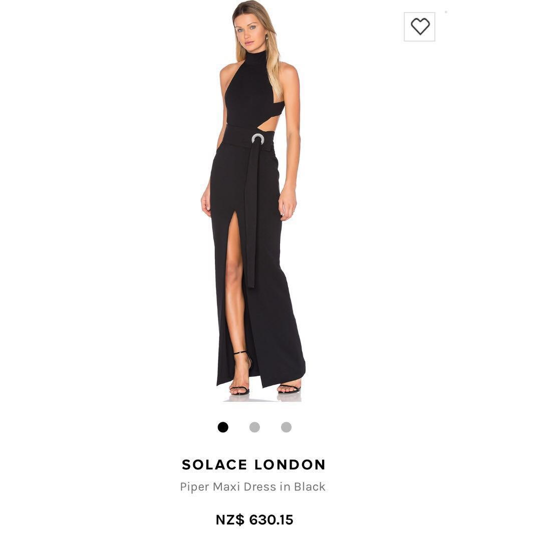 Solace London Piper Maxi Dress (available for rent as well)