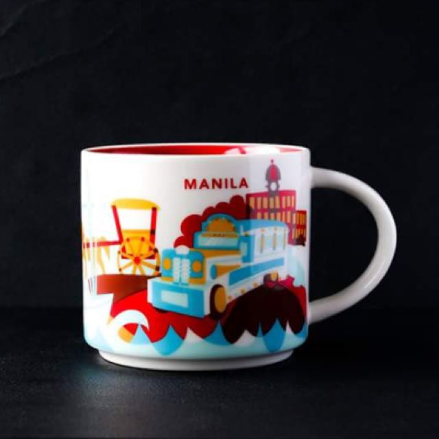 Starbucks You Are Here Collection Manila Mug