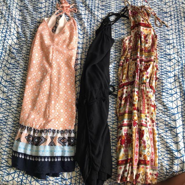 Summer dresses/playsuit bulk