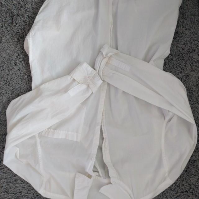 Sunday's best white dress shirt