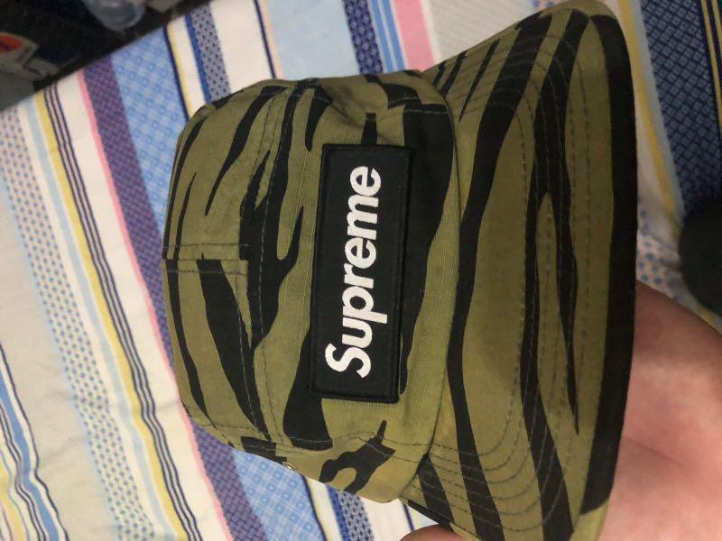 Supreme olive zebra camp cap s/s 12