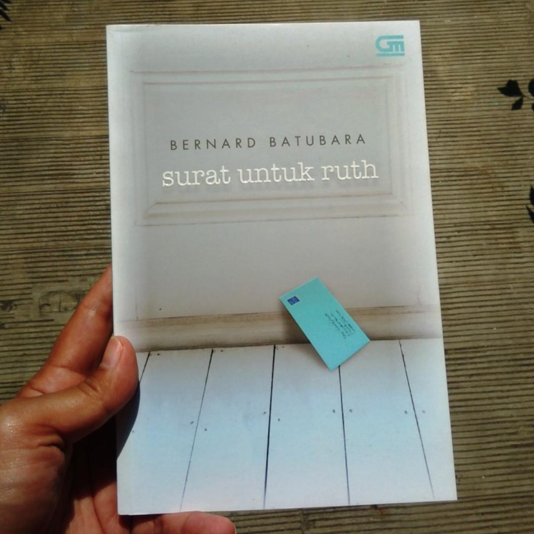 Surat Untuk Ruth (novel bekas)